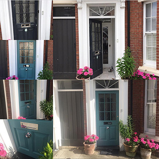 Front door rejuvenation